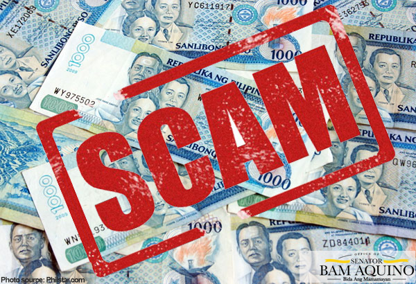 Sen. Bam Warns Public Against Investment Scams