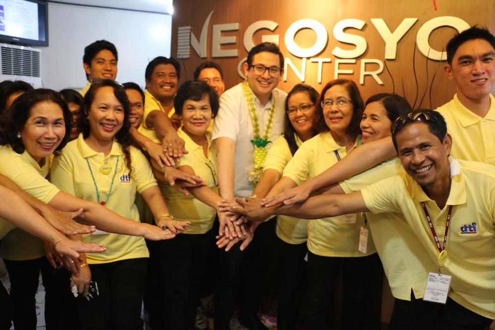 PHOTO RELEASE: Camarines Norte Negosyo Center