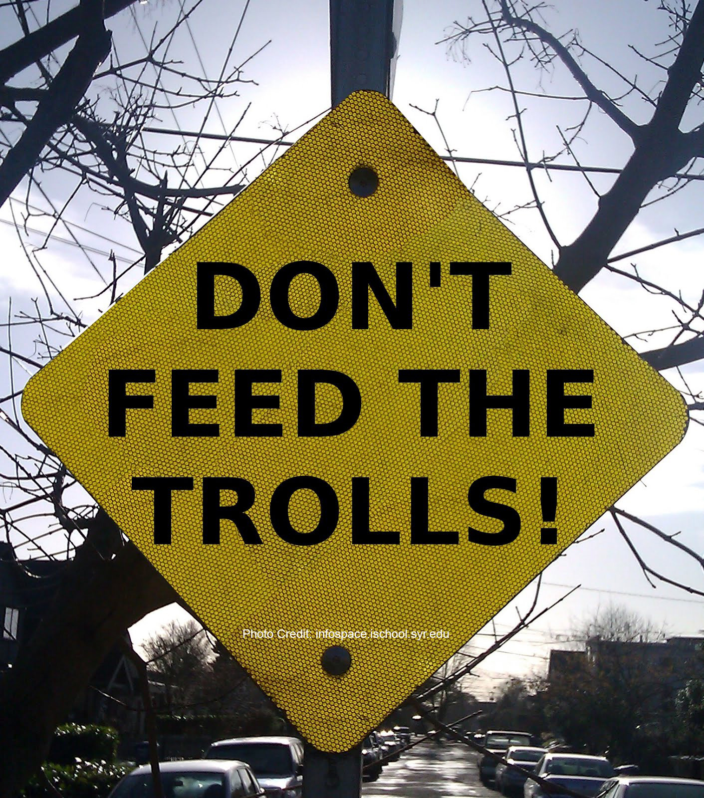 When trolls and propagandists occupy the Internet