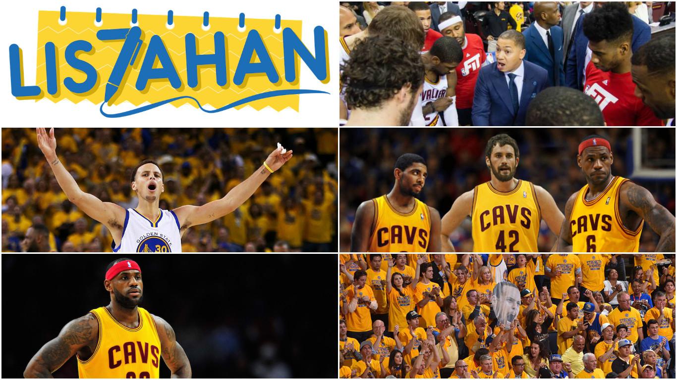 NBA Finals 2016: 7 Dahilan Bakit Mananalo ang Warriors or Cavaliers