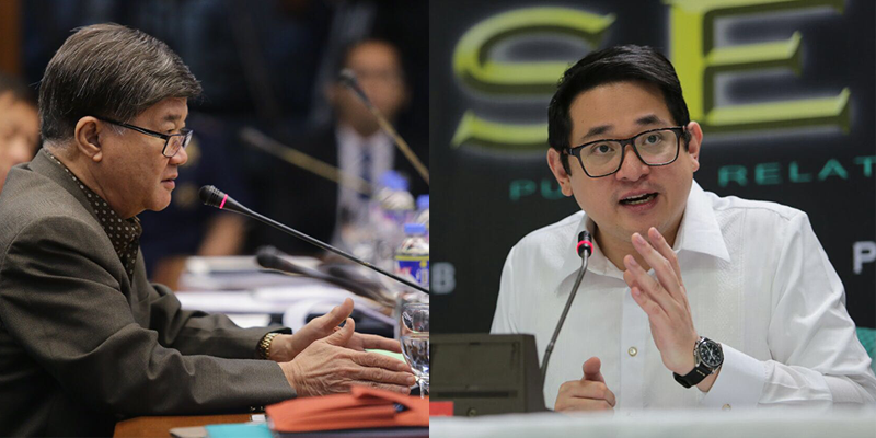 Sen. Bam to Aguirre: Apologize, take responsibility for reckless accusations
