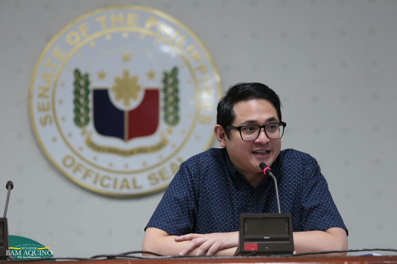 Sen. Bam: No political patronage in free education in SUCs, LUCs