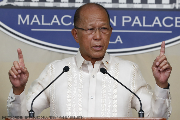 Defense Sec. Lorenzana: Rumors linking Sen. Bam to Marawi incident 'too absurd to be believed'