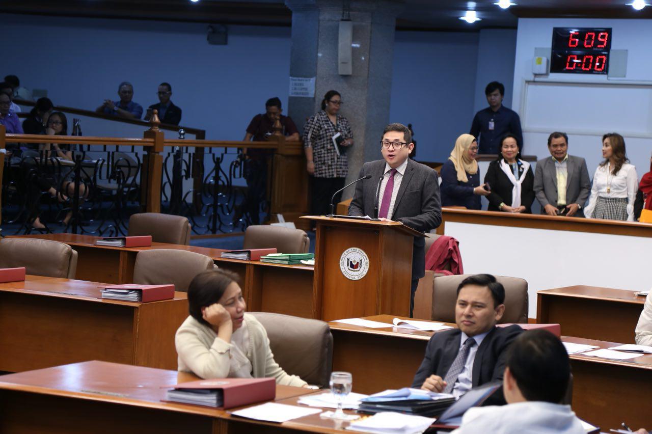 Sen. Bam Aquino is lone opposition, dissenting vote in Magic 12