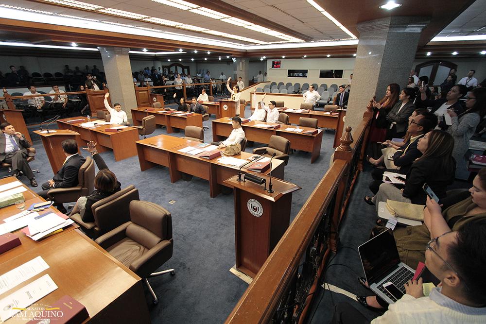 Sen. Bam on Senate's stand against SC's quo warranto