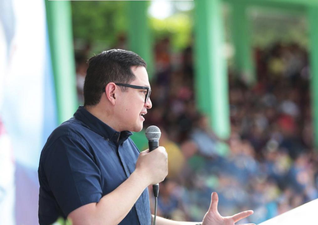 Sen. Bam Aquino, lone opposition standing in winning circle