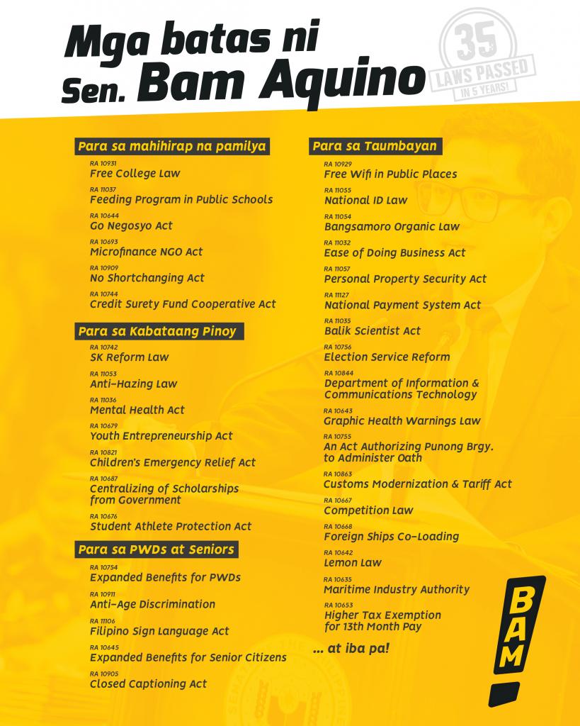 Senator Bam Aquino to hold an 'AMA' on reddit PH – New Vantage