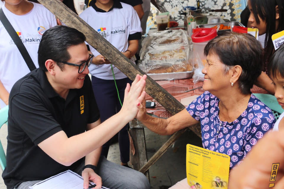 Sen. Bam breaks into winning circle in Pulse Asia survey, stresses importance of people's support
