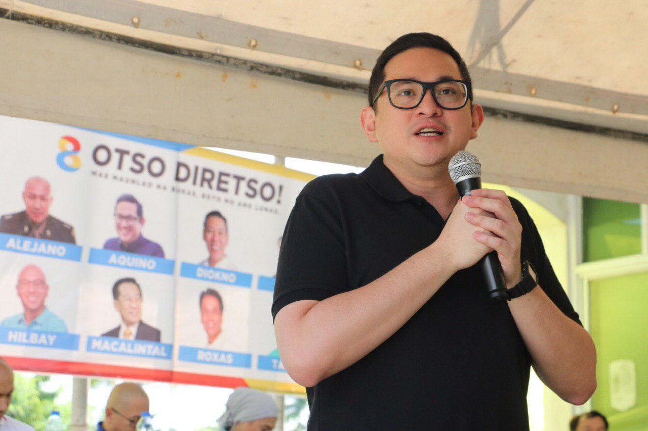 Sen. Bam breaks into top 12 in SWS survey