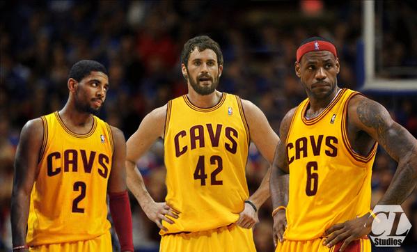 Cavaliers Big 3
